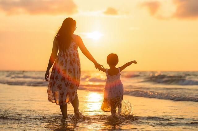 大型連休で家族を大切にする